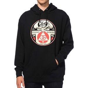 Obey Graphic Hooded Sweatshirt